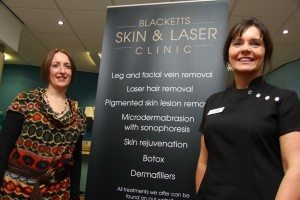 Blacketts Skin & Laser Clinic, North East, RejuvaLight technology, skin technology, NASA laboratory, PR, press shot , Harvey & Hugo