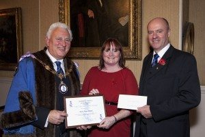 Nordic Pioneer, awards, Diane Shakepeare, Peter Robinson, cleaning firm, training firm, Facilities management, apprenticeships, placements, Darlington, National company, Eric Hill Award 2012, PR, Harvey & Hugo, North East