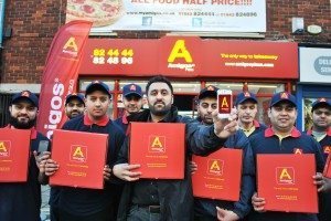 Amigos Pizza, Middlesbrough, phone app, pizza orders, pizza delivery, takeaway, App launch, fast food takeaway and specialist delivery service, North East, PR, Harvey & Hugo, press shot