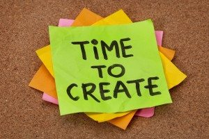 Time to Create, Post It, Creativity