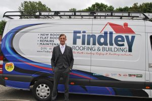 Findley Roofing press shot