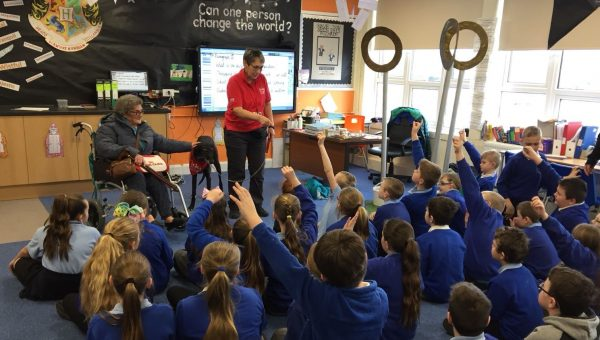 Wag at Simonside Primary
