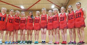 Red House School U14 netball team