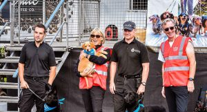 Northumbria Police Dog Section with Wag & Company at the 'Walk for Wag'