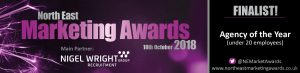 North East Marketing Awards - Agency of the Year (under 20 employees)