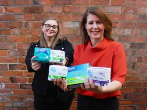 Darlington Cares tackles period poverty