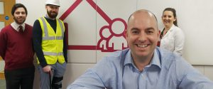 Darlington Building Society's Director of Distribution Darren Ditchburn launches the Professionals Mortgage