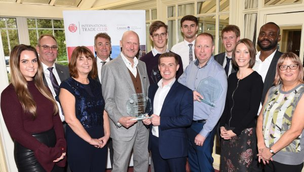 Winners of the Lancashire Innovative Trade Club awards