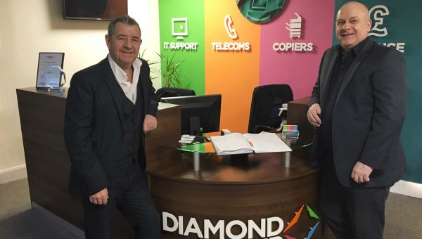 John Burns, managing director and Terry Armstrong, head of furniture at Diamond Group