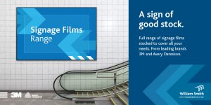 William Smith coloured signage film portfolio