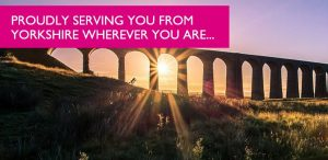Coles Solicitors proudly serving you from Yorkshire with an image of a Yorkshire viaduct at sunset