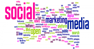 social media language wordcloud