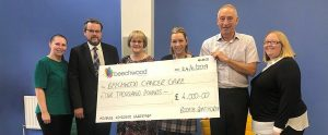Booth Ainsworth raised over £4,000 for Beechwood Cancer Care Centre