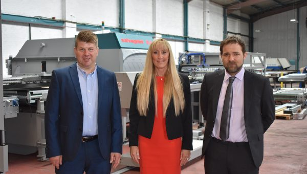 BTS Fabrications Managing Director, Phil Atkinson; Company Secretary, Marcia Atkinson; and Production Director, David Atkinson