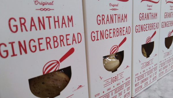 Encore Packaging has given Grantham Gingerbread a new look