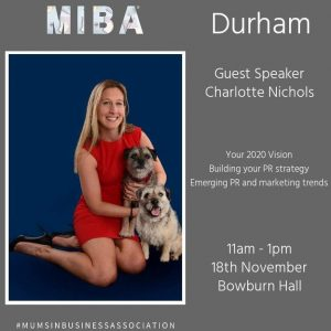 Information on the MIBA Durham event with Charlotte