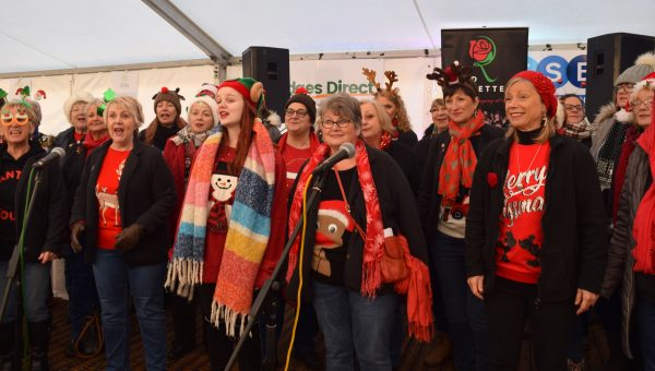 St Catherine's Hospice Christmas Festival choir