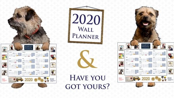 H&H 2020 wall planner